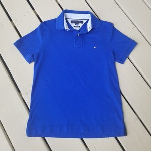 S Tommy Hilfiger royal blue polo shirt